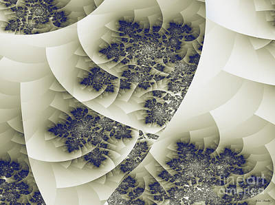 Art Print featuring the digital art Stactal The Fractal by Arlene Sundby
