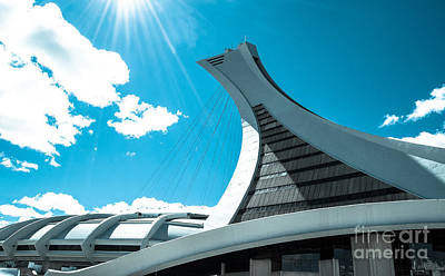 Photograph - Stade Olympique by Bianca Nadeau
