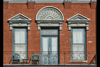 Stadelman Building - Plattsmouth - Nebraska Art Print by Nikolyn McDonald