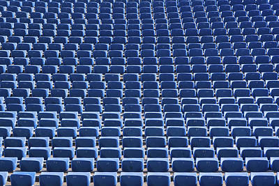 Stadium - Seats Art Print