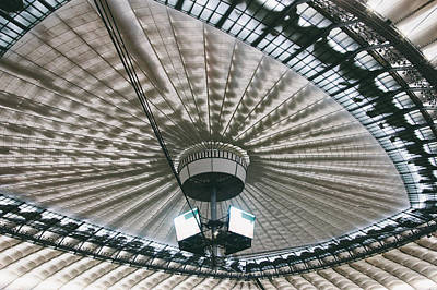 Stadium Ceiling Art Print by Pati Photography