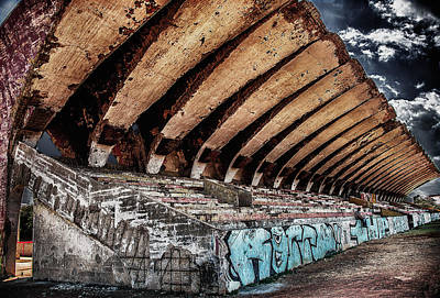 Photograph - Stadium Havana by Patrick Boening