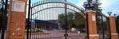 University Of Michigan Photograph - Stadium Of A University, Michigan by Panoramic Images