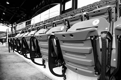 Photograph - Stadium Seating by Jenny Hudson