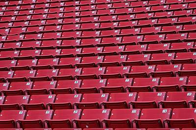 Photograph - Stadium Seating by Trever Miller