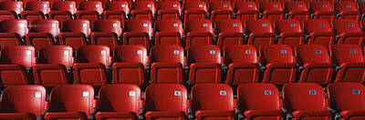 Folding Chair Photograph - Stadium Seats by Panoramic Images