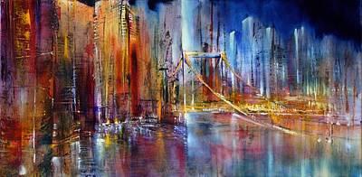 Painting - Stadtansicht by Annette Schmucker