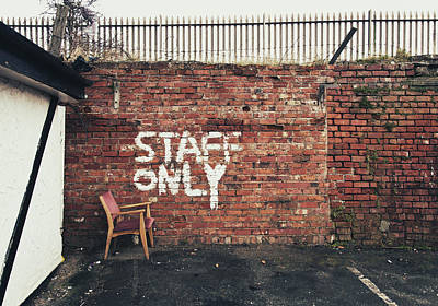 Staff Only Art Print