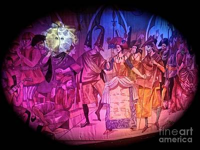 Photograph - Stage Curtain At Sea by John Potts