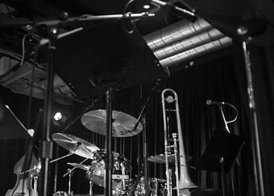 Monochromatic Photograph - Stage - Ready To Go by Photographic Arts And Design Studio