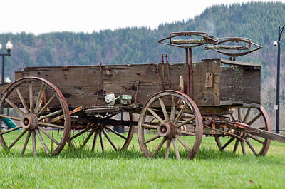Photograph - Stage Wagon by Tikvah's Hope