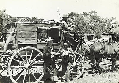 Photograph - Stagecoach Food 1935 by Patricia  Tierney