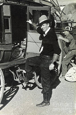 Photograph - Stagecoach Rider 1935 by Patricia  Tierney