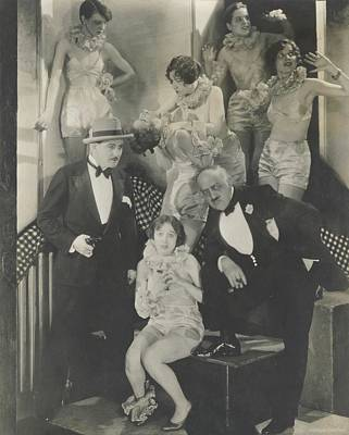 Sylvia Photograph - Staged Scene From The Play 'broadway' by Edward Steichen