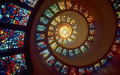 Stairs Digital Art - Stained Glass by Gianfranco Weiss