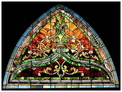 Photograph - Stained Glass Art101 by Frank Wickham