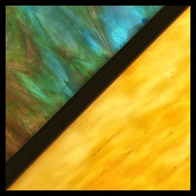 Photograph - Stained Glass Border by Tom Druin