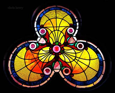 Photograph - Stained Glass  by Chris Berry