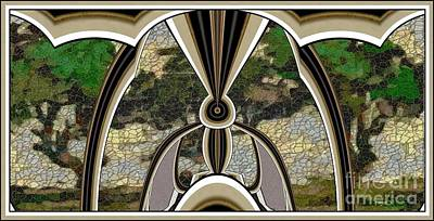 Stained Glass Collage Sgc1 Print by Pemaro