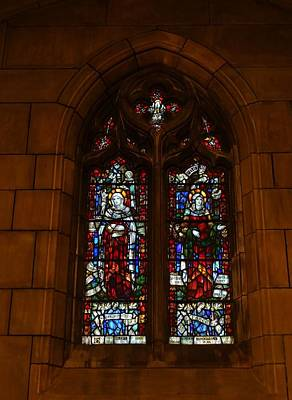 Stained Glass In New York City Art Print by Dan Sproul