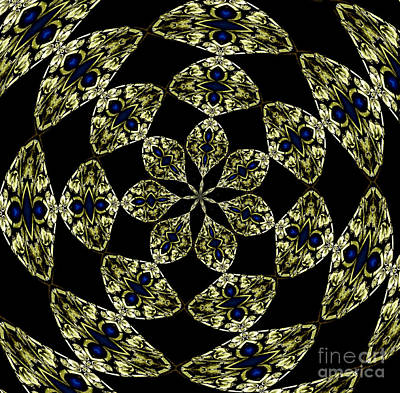 Photograph - Stained Glass Kaleidoscope by Rose Santuci-Sofranko