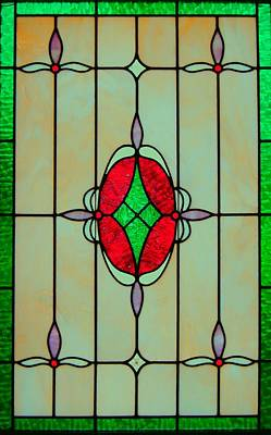 Stained Glass Art Print by Mary Ann Southern