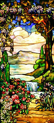 Photograph - Stained Glass No Border by Kristin Elmquist