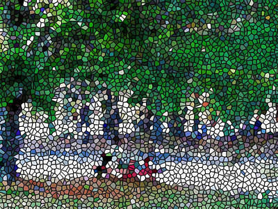 Stained Glass  Park Art Print