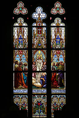 Photograph - Stained Glass Prague by John Magyar Photography
