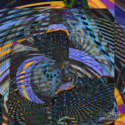 Digital Art - Stained Glass by Ursula Freer