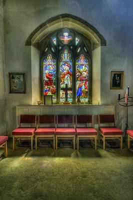 Photograph - Stained Glass - Ward And Hughes by Ian Mitchell