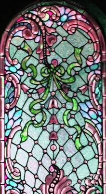 Stained Glass Window -2 Art Print by Kathleen Struckle