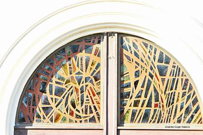 Photograph - Stained Glass Window by Audreen Gieger