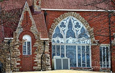 Photograph - Stained Glass Window by Liane Wright