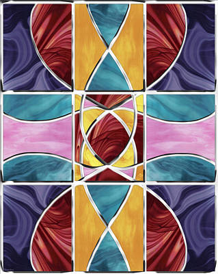 Digital Art - Stained Glass Window by Shawna Rowe