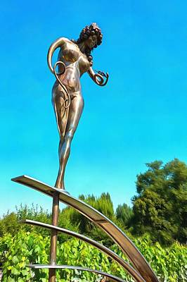 Photograph - Stainless Steel Woman by Mick Flynn