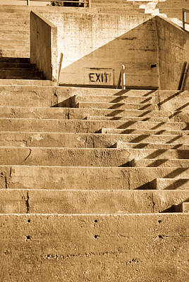 Photograph - Stair Lines by Erin Kohlenberg