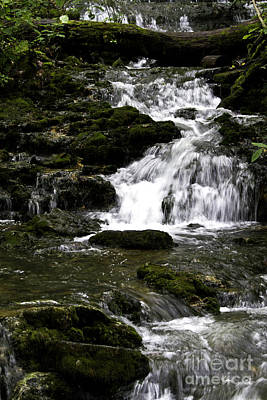 Photograph - Stair Step Falls Five by Ken Frischkorn