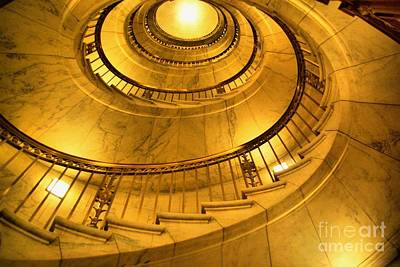 Stair Way To Justice Art Print by John S