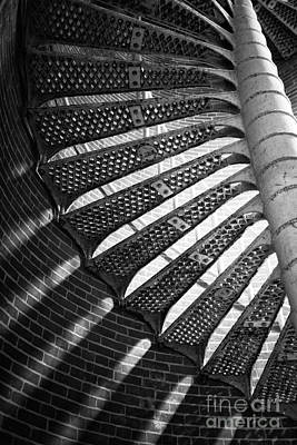 Photograph - Staircase Curves 2014 by John Rizzuto
