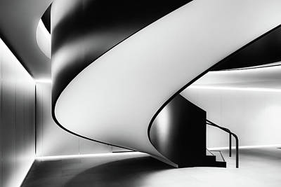 Staircase Photograph - Staircase by Darren Kelland