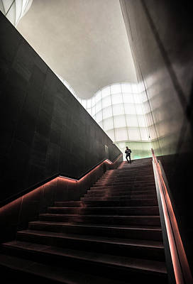 Staircase From Future Art Print