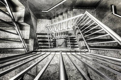 Staircase I Art Print by Everet Regal