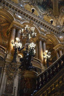 Photograph - Staircase In Opera Garnier - Paris by RicardMN Photography