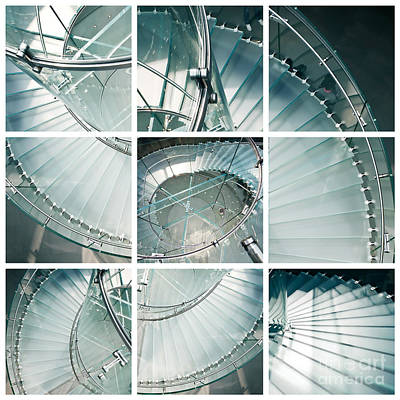Indoor Photograph - Staircase Jigsaw by Delphimages Photo Creations
