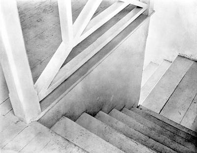 Mexico City Photograph - Staircase, Mexico City, C.1924 by Tina Modotti