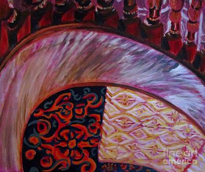 Broadmoor Painting - Staircase Study by Tamara Lee Madden