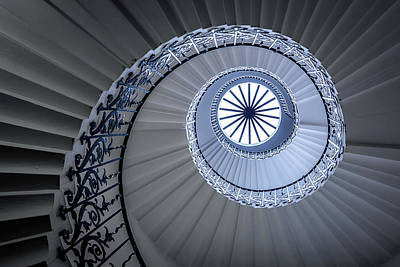 Uk Photograph - Staircase by Sus Bogaerts