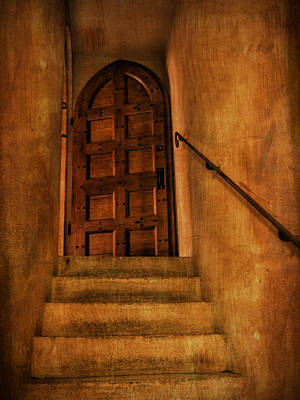 Photograph - Staircase To The Doorway by Bob Coates
