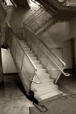 Photograph - Stairs 01 by Carlos Diaz